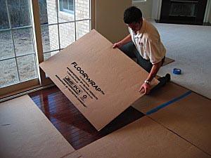 Floorwrap Floor Protection Corrugated Cardboard Sheets