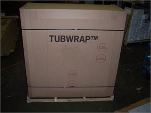 TubWrap tub protection and packaging