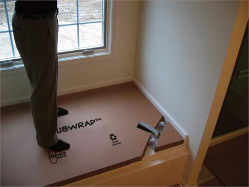 TubWrap Bathtub Protection For Soaker Bathtub   60