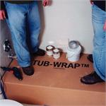 TubWrap Tub Protection for Standard 5 Ft. Bathtub - 56.5