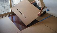 FloorWrap Floor Protection - Corrugated Cardboard Sheets